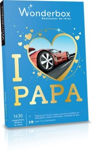 Coffret Wonderbox I love Papa